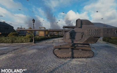 Waffentraktor E100 - First upcoming Tier 1 Premium tank 1.1b [1.2.0.1], 2 photo